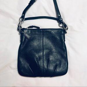 Coach Pebbled Leather Crossbody Bag